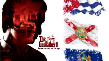 GodFather II: Карта расположений улучшенного оружия, лучших бойцов, бойцов мафиозных семей.
