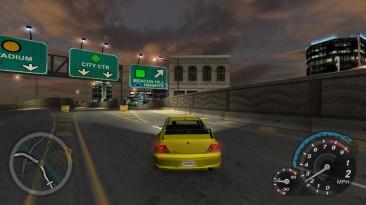 """Need for Speed: Underground 2 """"Прозрачные барьеры и удаление иконок автомобилей с миникарты"""""""