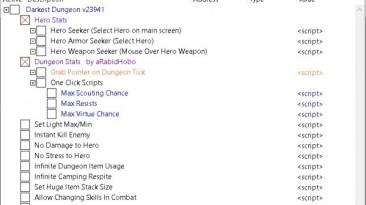 Darkest Dungeon: Таблица для Cheat Engine [UPD: 06.07.2017] {koderkrazy}