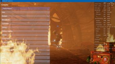 "Oddworld: Soulstorm ""Меню отладки"""