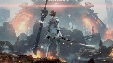 Кроссовер Final Fantasy и NieR: Automata появился благодаря стейкам и вину