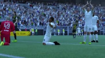 Прохождение FIFA 17. Режим истории: Часть 2: Первый матч (Прохождение без комментариев)