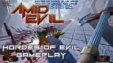 Геймплейное видео AMID EVIL