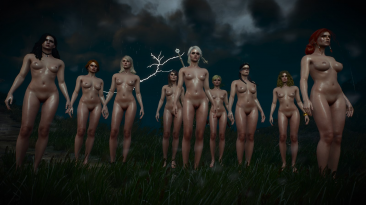 "Witcher 3 ""Проект Безумная нагота"""