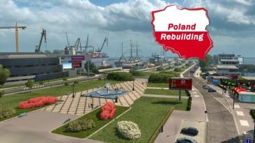"Euro Truck Simulator 2 ""Карта Poland Rebuilding v2.5 (1.40.x)"""