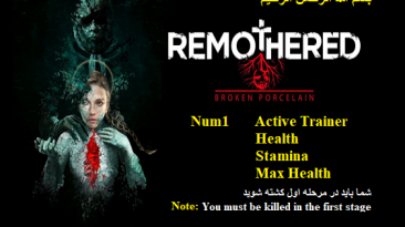 Remothered: Broken Porcelain: Трейнер/Trainer (+3) [1.0] {Abolfazl.k}