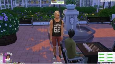 Провинциальная жизнь - драка за девушку - The Sims 4