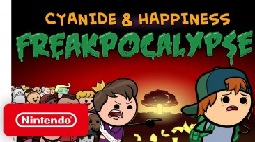 """Приключенческая игра """"Cyanide & Happiness - Freakpocalypse"""" выйдет на Nintendo Switch 11 марта"""