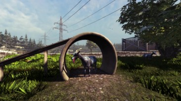Немного Goat Simulator 2014 в Dota 2