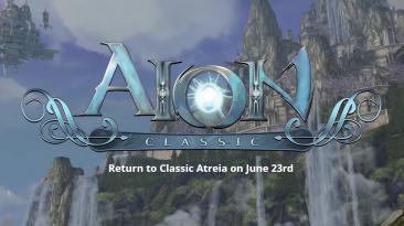 23 июня выйдет западная версия Aion Classic с подпиской и Free-To-Play