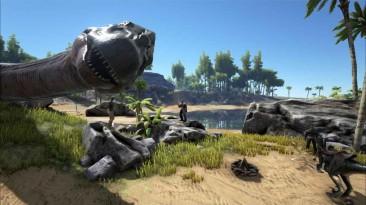 Катаемся на тираннозавре в ARK: Survival of the Fittest