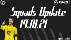 """FIFA 21 """"Официальное обновление составов от 19.01.21"""""""