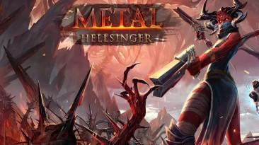 Metal: Hellsinger - дикая смесь Doom и Rock Band (а также Painkiller, Shadow of the Damned, Devil May Cry и т.д.)