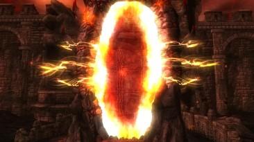 """Американцы обнаружили """"огненные врата ада"""" из TES 4: Oblivion"""