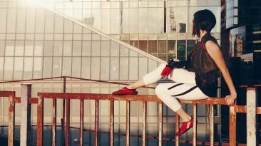 Трейсер в белых штанишках: косплей Фейт из Mirror's Edge