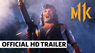 Официально анонсированы Милина, Рэйн и Рэмбо для Mortal Kombat 11