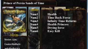 Prince of Persia: The Sads of Time: Трейнер/Trainer (+6) [1.0 (GOG)] {Abolfazl.k}