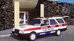 """Euro Truck Simulator 2 """"Tofas Kartal Emergeny Servis v1.0 (v1.39.x)"""