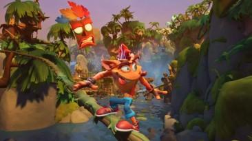 Цифровые продажи Crash Bandicoot 4: It's About Time оказались ниже, чем у Crash Bandicoot N. Sane Trilogy