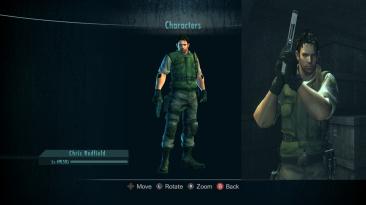 """Resident Evil: Revelations """"Chris stars from resident evil 5"""""""