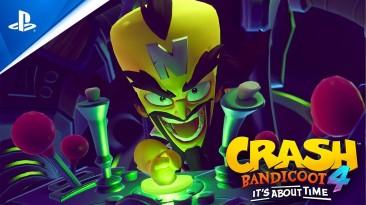 Новое видео Crash Bandicoot 4: It's About Time демонстрирующее преимущества на PS5