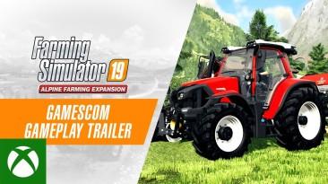Анонсировано новое DLC Alpine Farming для Farming Simulator 19