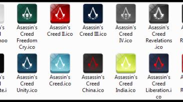 "Assassin's Creed ""Иконки игр"""