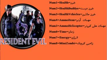Resident Evil 6 : Трейнер/Trainer (+8) [1.0] {Abolfazl.k}
