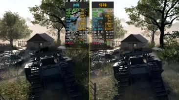 Battlefield 1 8GB RAM vs. 16GB RAM (Тест частоты кадров)