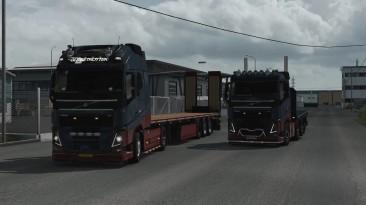 """Euro Truck Simulator 2 """"Тюнинг пак (TruckersMP) v1.0 (1.39-1.40)"""""""