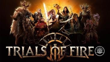 Из раннего доступна Steam вышла карточная игра Trials of Fire