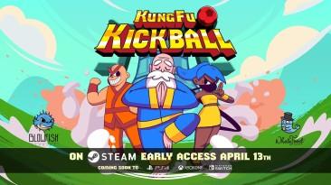 Командный спортивный платформер KungFu Kickball появится в раннем доступе Steam 13 апреля