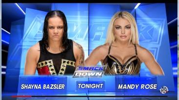 "WWE 2k16 ""Shayna Bazsler 2к19 порт финальная версия"""