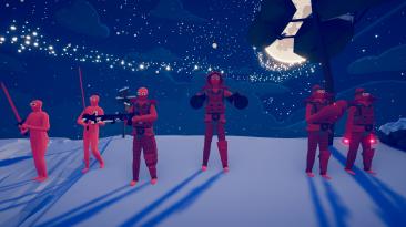 "Totally Accurate Battle Simulator ""Neon wars - новые юниты и кампания"""