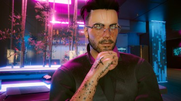 """Cyberpunk 2077 """"Круглые очки для мужчины Ви"""""""