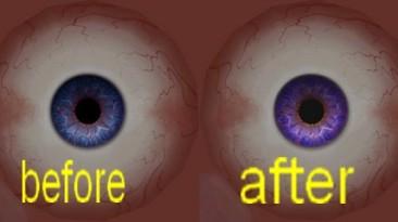 "Witcher 3: Wild Hunt, ""yen intense purple eyes\Насыщенные фиолетовые глаза для Йеннифер"""