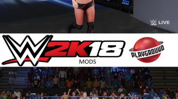 "WWE 2K18 ""Eva Marie MOD"""