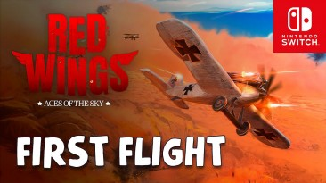Аркадные воздушные бои Red Wings: Aces of the Sky выйдут 21 мая на Nintendo Switch