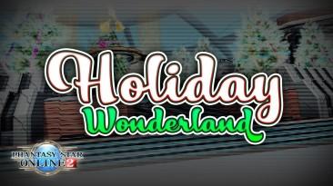 Phantasy Star Online 2 представляет новую коллекцию Holiday Wonderland