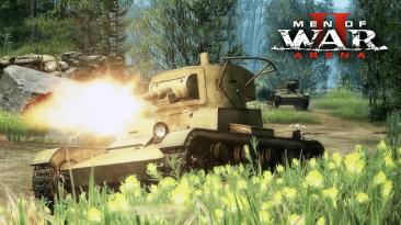 Обновление Men of War 2: Arena новые модели для техники и оружия, реалистичные звуки для минометов, исправление ошибок