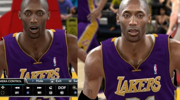 "NBA 2K10 ""Enhanced Player Model"""