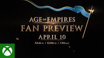 Официально: Age of Empires 4 покажут 10 апреля на специальном мероприятии