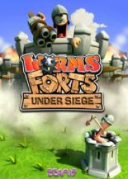 Обложка игры Worms Forts Under Siege
