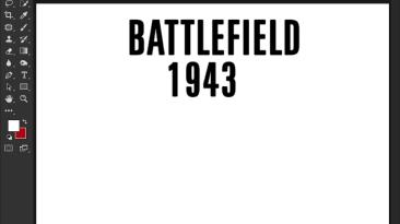 """Battlefield 1943 """"Шрифт для фотошопа и прочих редакторов"""""""