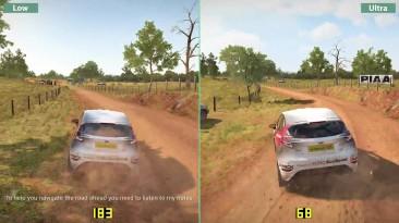 DiRT 4 - Сравнение PC 4K Low vs. Ultra (Candyland)