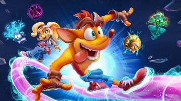 Crash Bandicoot 4 дебютировала на первом месте британского розничного чарта