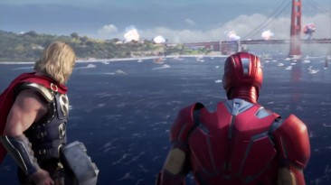 Мстители / Avengers - Геймплей с Gamescom 2019 на русском - VHSник