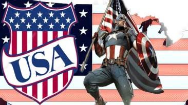 "American Truck Simulator ""ATS International LoneStar USA Captain America Skin 1.37.х"""