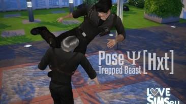 """Sims 4 """"Позы для драк от Hangedxt"""""""