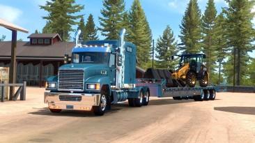 "American Truck Simulator ""Прицеп TrailKing Dove Tail в собственность"""